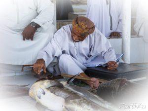 Subasta de pescado de Barka